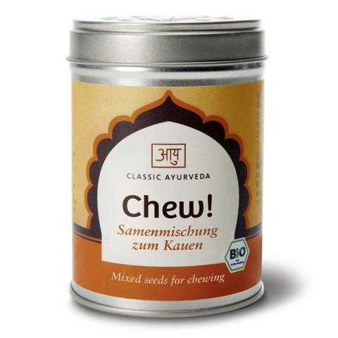 Prieskonių mišinys kramtyti po valgio Chew! (Kramtyk!), ekologiškas, Classic Ayurveda, 90g