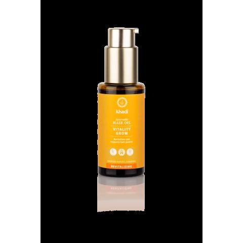 Gaivinantis plaukų aliejus VITALITY GROW, Khadi Naturprodukte, 50 ml