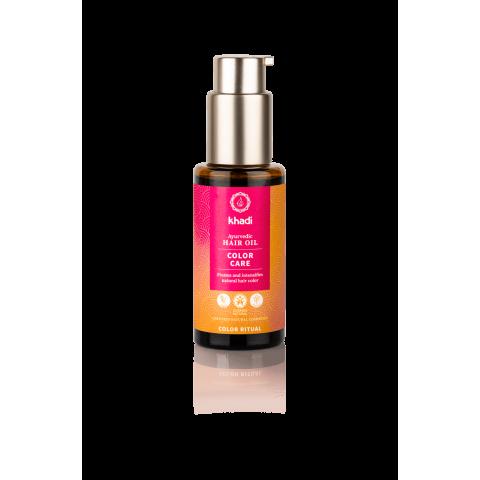 Spalvą saugantis plaukų aliejus COLOR CARE, Khadi Naturprodukte, 50 ml