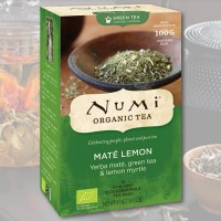 Arbata Matė-citrina Numi Tea, ekologiška, 18 pakelių