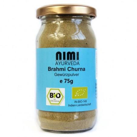 Brahmi milteliai, ekologiški, Nimi Ayurveda, 75g