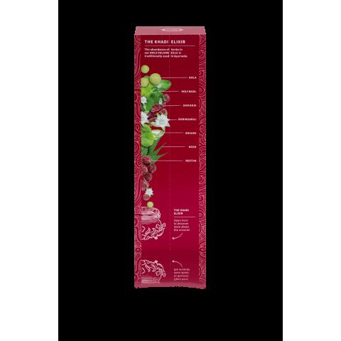 Ajurvedinio eliksyro šampūnas plaukų apmičiai AMLA Elixir, Khadi Naturprodukte, 200ml