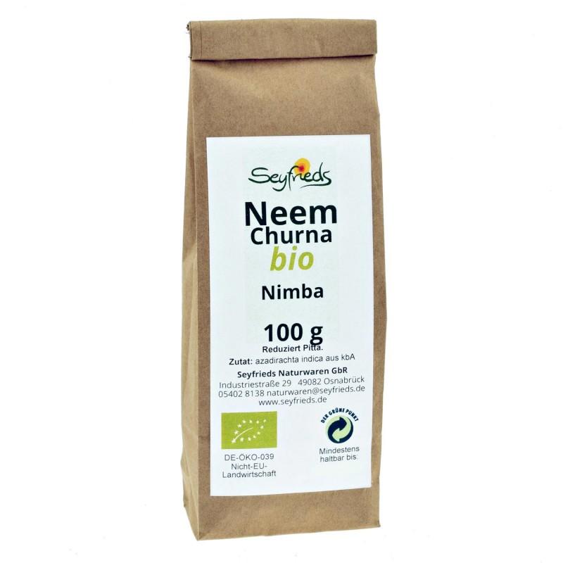 Nimbamedžio milteliai Neem (Nimba), ekologiški, Seyfried, 100g