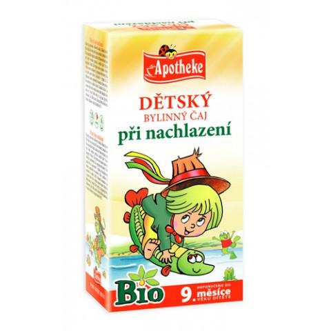 """Žolelių arbata vaikams """"Šaltuko"""" nuo 9 mėn., ekologiška, Apotheke, 20 pakelių"""