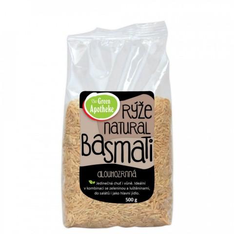 Rudieji natūralūs Basmati ryžiai, Green Apotheke, 500g