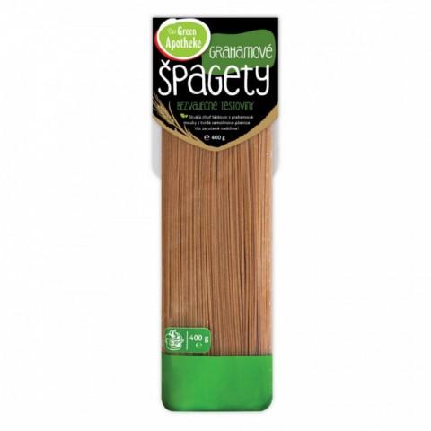 Grahamo (neatskirtų kviečių) makaronai (spagečiai), Green Apotheke, 400g
