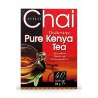 Tikra autentiška juodoji Kenijos arbata, Chai Xpress, 40 pakelių