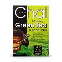 Žalioji valanti arbata su mėta, Chai Xpress, 25 pakeliai