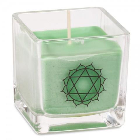 """Ekologiška rapsų vaško kvepianti žvakė """"Anahata chakra"""""""