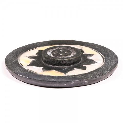 Muilo akmens smilkalų laikiklis Lotus, 10cm