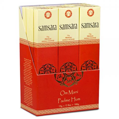 Smilkalų lazdelės Masala Samsara, 15g