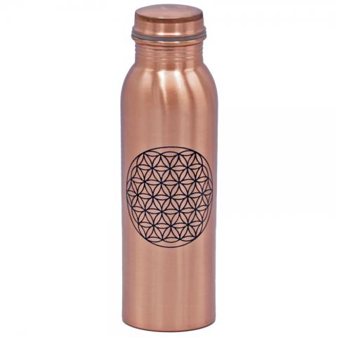 Varinė gertuvė-butelis Gyvenimo gėlė, Yogi & Yogini, 750ml