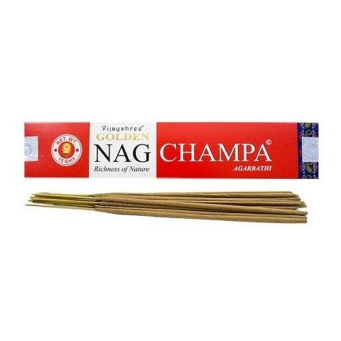 Smilkalų lazdelės NAG CHAMPA, Golden, 15g