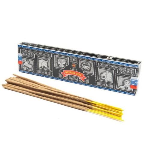 Smilkalų lazdelės Super Hit Nagchampa, Satya, 15 g
