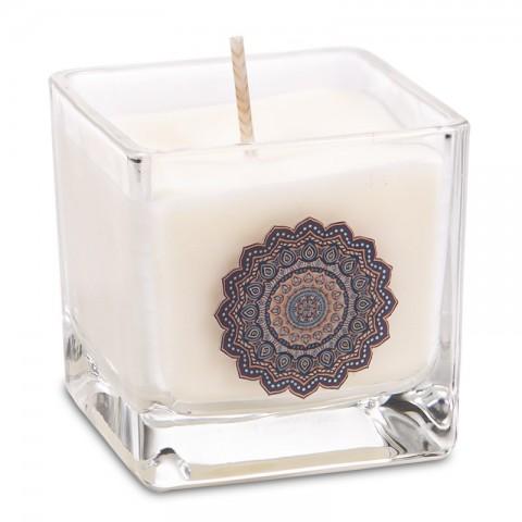"""Rapsų vaško kvepianti žvakė """"MANDALA"""""""
