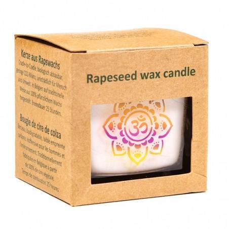 """Rapsų vaško kvepianti žvakė """"OHM"""""""
