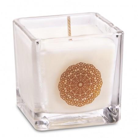 "Rapsų vaško kvepianti žvakė ""SANDELWOOD"""