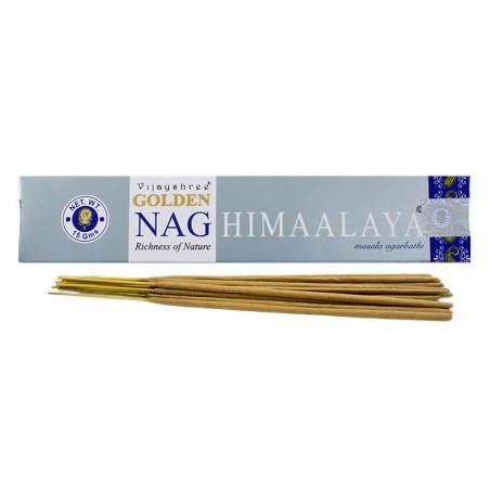 Smilkalų lazdelės NAG HIMALAYA Golden, Vijayshree, 15g