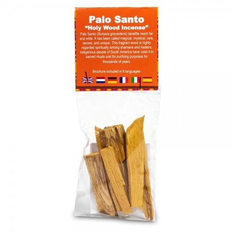 Palo Santo šventos medienos lazdelės smilkymui, mažos, 20g