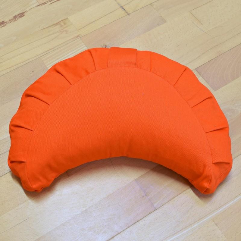 """Meditacijos pagalvėlė """"Pusmėnulis"""" Basic, Baghi, oranžinė"""