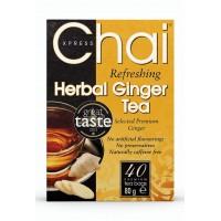 Imbierinė žolelių arbata, Chai Xpress, 40 pakelių