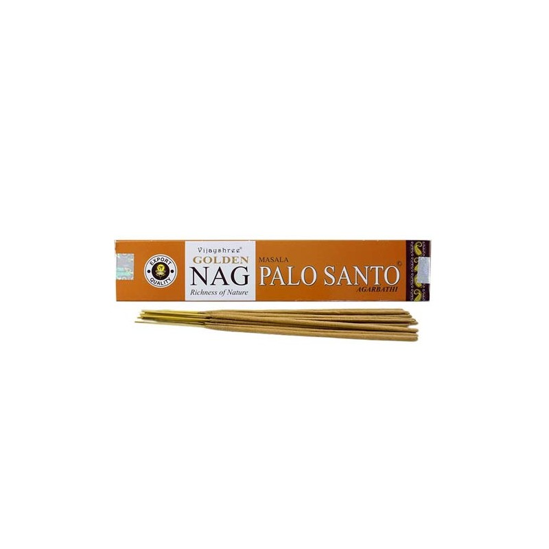 Smilkalų lazdelės PALO SANTO Golden, Vijayshree, 15 g