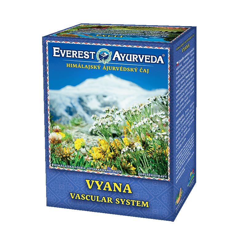 """Ajurvedinė Himalajų arbata """"VYANA"""", biri, Everest Ayurveda, 100g"""