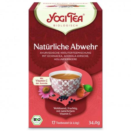 Prieskoninė arbata Immune Support, Yogi Tea, 17 pakelių