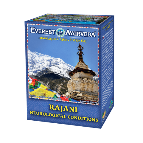 """Ajurvedinė Himalajų arbata """"RAJANI"""", biri, Everest Ayurveda, 100g"""