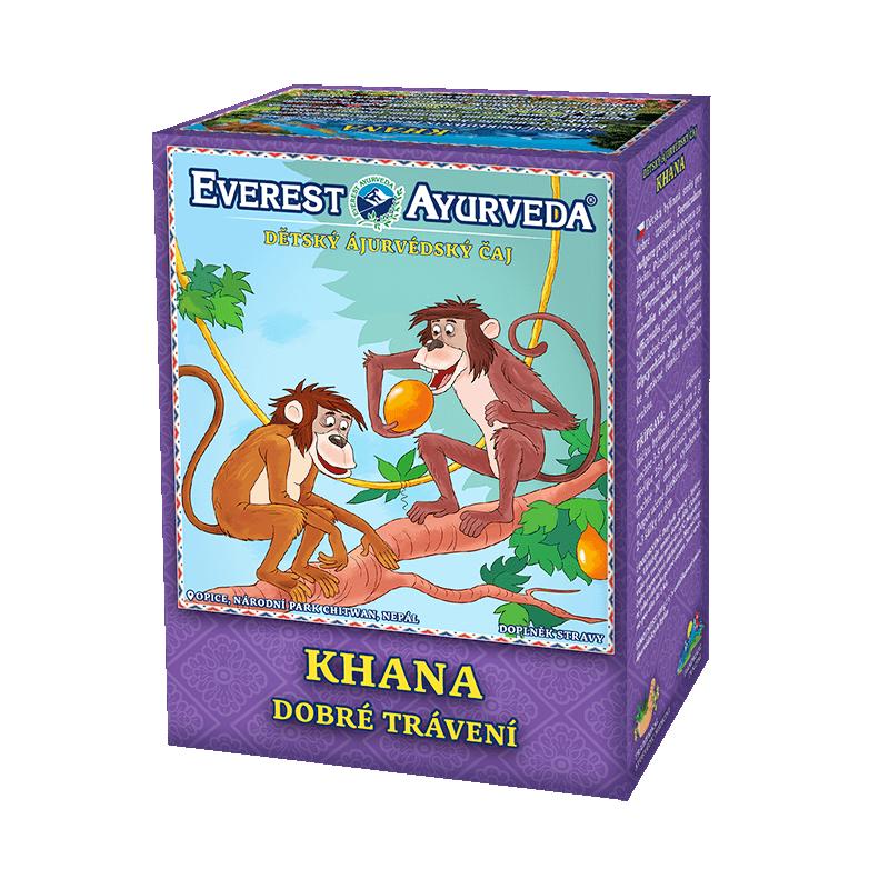 """Ajurvedinė arbata vaikams """"KHANA"""", biri, Everest Ayurveda, 100g"""