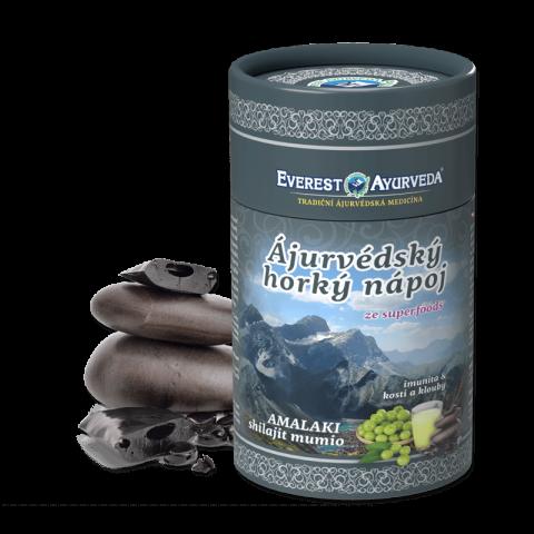 Ajurvedinis gėrimas AMLA SHILAJIT MUMIO, Everest Ayurveda, 100g