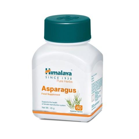 Maisto papildas Asparagus (Shatavari), Himalaya, 60 kapsulių