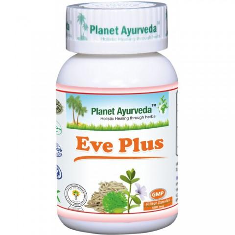 Maisto papildas Eve plus, Planet Ayurveda, 60 kapsulių