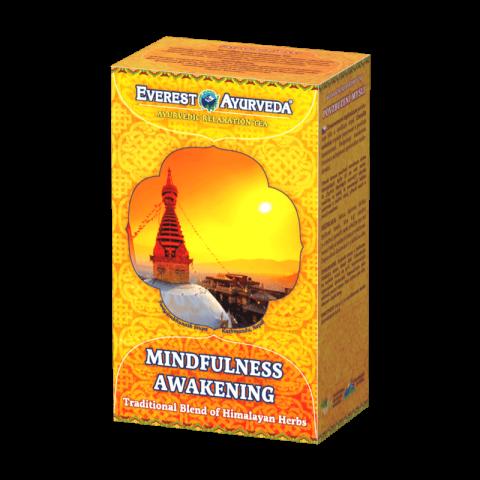 Ajurvedinė Himalajų arbata MINDFULNESS AWAKENING LAMA, biri, Everest Ayurveda, 100g