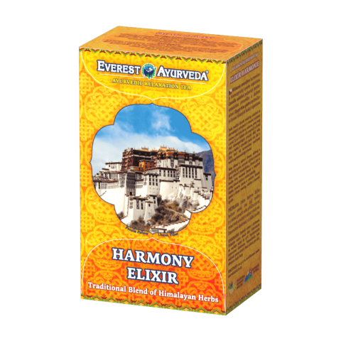 Ajurvedinė Himalajų arbata HARMONY ELIXIR TIBET, biri, Everest Ayurveda, 100g
