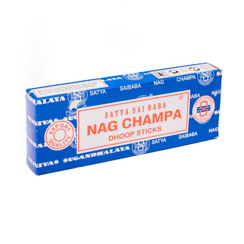 Smilkalų lazdelės Nag Champa Dhoop, Satya,10 vnt.
