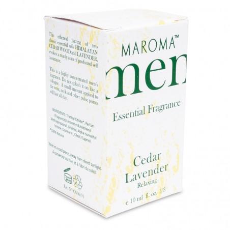 Kvepalai vyrams Cedar Lavender, Maroma, 10 ml