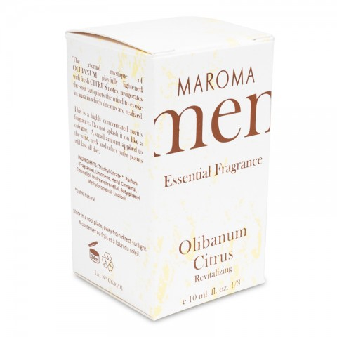 Kvepalai vyrams Olibanum Citrus, Maroma, 10 ml