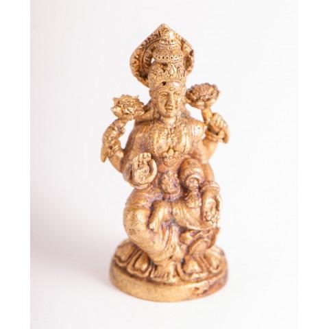 "Žalvarinė statulėlė ""Lakshmi"", 3 cm"