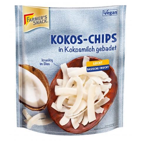 Kokosų traškučiai, Farmer's Snack, 100g