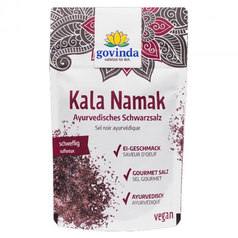 Juodoji druska (Kala Namak), Govinda, 150 g