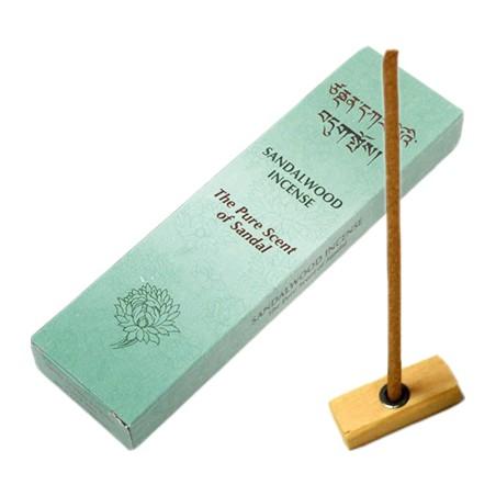 Tibeto smilkalų lazdelės su santalu The Pure Scent of Sandal, su laikikliu, 20 lazdelių