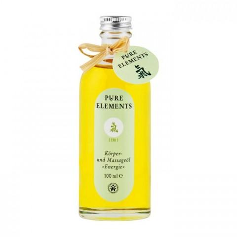 Energizuojantis citrusinis kūno ir masažo aliejus Chi Energie, Pure Elements, 200ml