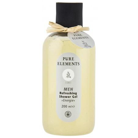 Gaivinantis ir vėsinantis dušo gelis vyrams Chi Energie, Pure Elements, 200ml