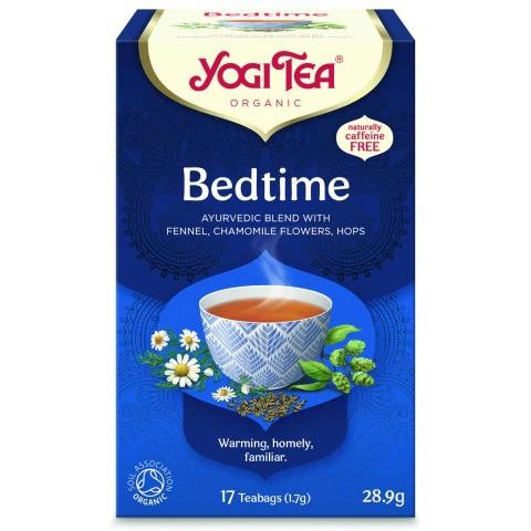 Prieskoninė arbata Bedtime, Yogi Tea, ekologiška, 17 pakelių