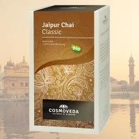 """Prieskoninė arbata """"Jaipur Chai"""", ekologiška, Cosmoveda, 20 pakelių"""