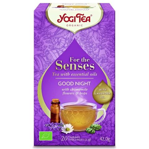 Arbata su eteriniais aliejais Good Night (Labos nakties), Yogi Tea, 20 pakelių