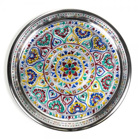 Maisto aukojimo padėkliukas Mandala, 28cm