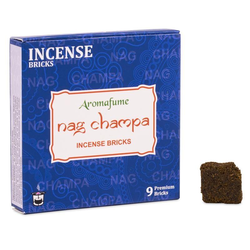 Smilkalų kaladėlės Nag Champa, Aromafume, 40g