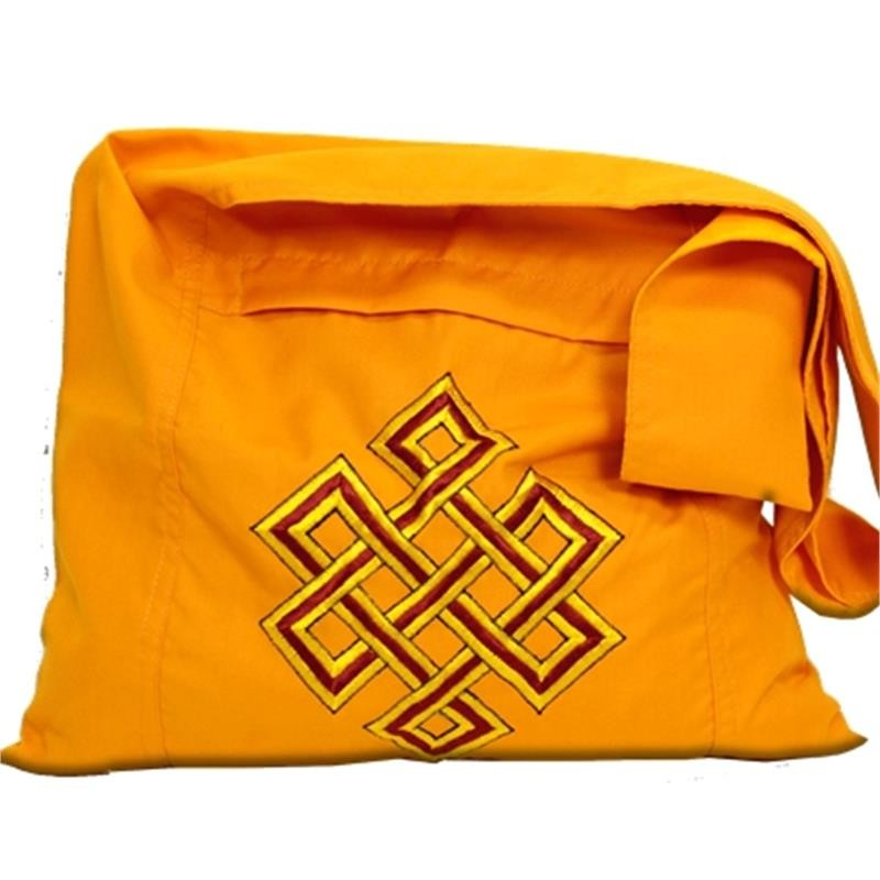 Lama krepšys su begaliniu mazgu, oranžinis